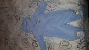 Infant Baby Boy Snowsuit- 6 to 9 months