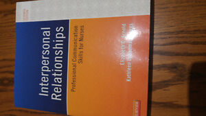 1st year LPN Interpersonal Relationship Communications textbook