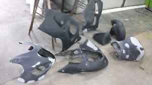 Complete Suzuki Hayabusa 1999-2007 Body panels and Tank West Island Greater Montréal image 2