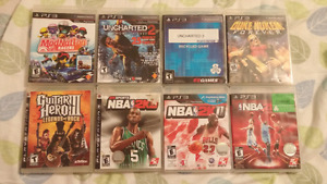 $5 PS3 Games - $20 for all 8