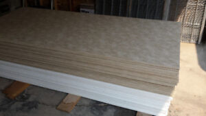 Interior wall panels Vinyl Coated  for mobile homes