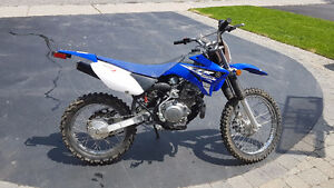 2015 TTR125 slightly used - very low hours