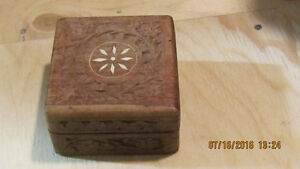 Ornamental Indian Jewelry or Ring Box.