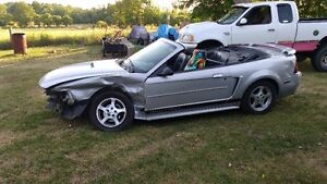 2002 Ford Mustang Convertible parts only