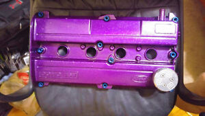 Massive trophy valve cover with hardware $270