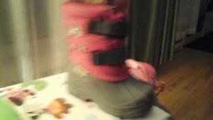 bottes hiver baby chou hichaud grandeur 5 comme neuves