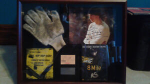 Eminem on-screen worn glove 8 mile w autograph signed slim shady