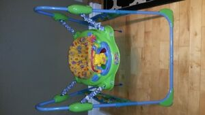 FISHER PRICE JUMPEROO LIKE NEW MUSIC LIGHTS SAFE JUMPING