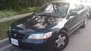 2000 Honda Accord AS IS or PARTS