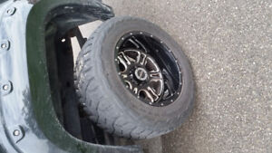 """35""""/13.5/20"""" vision rims and toyo tires"""