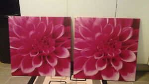Two beautiful canvas paintings