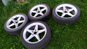 Dcorsa rims with tires