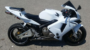 2003 HONDA CBR 600RR RARE ORIGINAL WHITE COLOR