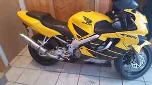 2000 Honda cbr 600 f4 trade for truck or car