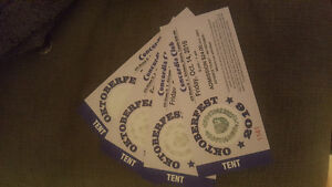 4 Concordia tickets for Fri Oct 14 Kitchener / Waterloo Kitchener Area image 2