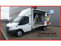 2007 FORD TRANSAIT 2.4TDCi 115PS WHITE DIESEL CURTAIN SIDER T350 LWB