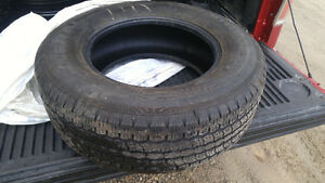 Four General Tire 255 70r17 All Season Tires - Only $20 Each! Kitchener / Waterloo Kitchener Area image 1