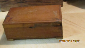 Old Vintage Mortice and Tenon Jointed Wooden Box