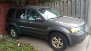 05 Ford escape. Trade for atv or sled.