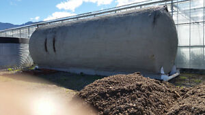 insulated carbon steel storage tank
