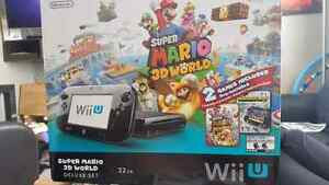 Wii u - Super Mario World 3D deluxe edition 32GB