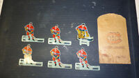 Eagle toys - Montreal Canadiens tin players & team bag