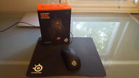 SteelSeries Rival With 4HD Professional Mouse Pad With BOX!