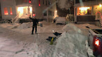 Snow Removal Services driveways and walk ways