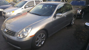 2006 Infiniti G35 Sedan - Loaded with Only 73,000km