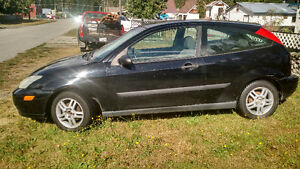 2002 Ford Focus ZX3 Coupe (2 door)