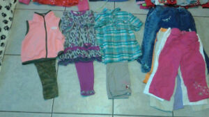 baby girl 12-18 mths clothes,snowsuit, baby bullet