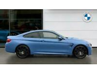 2018 BMW M4 2dr DCT [Competition Pack] Petrol Coupe Auto Coupe Petrol Automatic