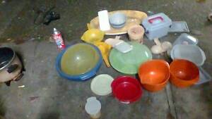 Plastic Containers Strainer Egg Bowl Lot Kitchen Tray Dinnerware Marsfield Ryde Area Preview