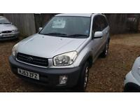 2003 Toyota RAV4 2.0 VVTi 4x4 estate only two owners full history