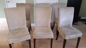 6 dining chairs for $40!