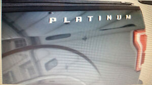 FORD F150 - LIMITED or PLATINUM - BADGES $100