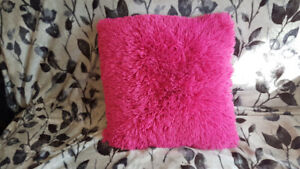 Pink and Purple Pillows