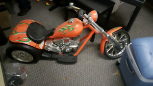 Power wheels custom chopper