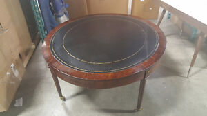 Mobile Antique Wood Coffee table