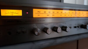 Rotel vintage receiver works great very powerful clean sound