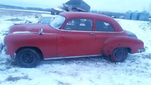 1949 2dr chev runs and drives mostly original