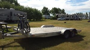 2014 phantom 1 by Stealth Trailers tandem axle Aluminum Trailer