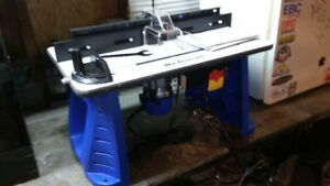 Router and router table,brand new