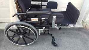 SuperTilt Wheelchair with Elevating Footrest