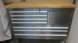 coffre a outils base stainless 48 pouces