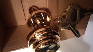 High Quality Brass Deadbolt - BRAND NEW Kitchener / Waterloo Kitchener Area image 2
