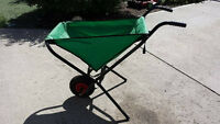 WHEELBARROW AND WEED WHIPPER/AS NEW
