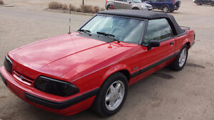 Original foxbody covertible in mint condition