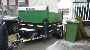 2009 Bri-Mar Single Axle Dump Trailer DT508