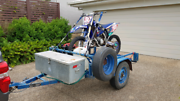 Motor bike trailer. North Lakes Pine Rivers Area Preview